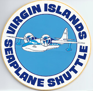 Virgin Islands Seaplane Shuttle, Hurricane Hugo, Sandy, cap'n Aux, airlines