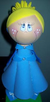 Fofucha Princesa Cinderela