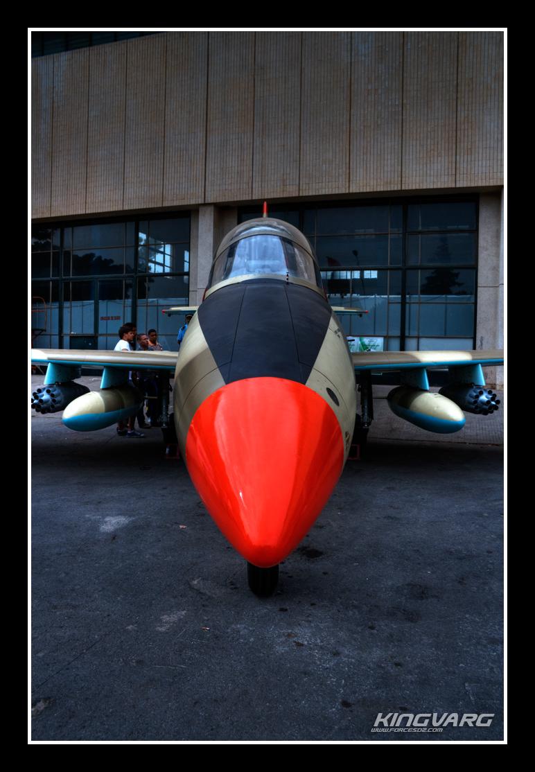 انشاء خط لصيانة طائرات الباتروس في الجزائر L-39+face