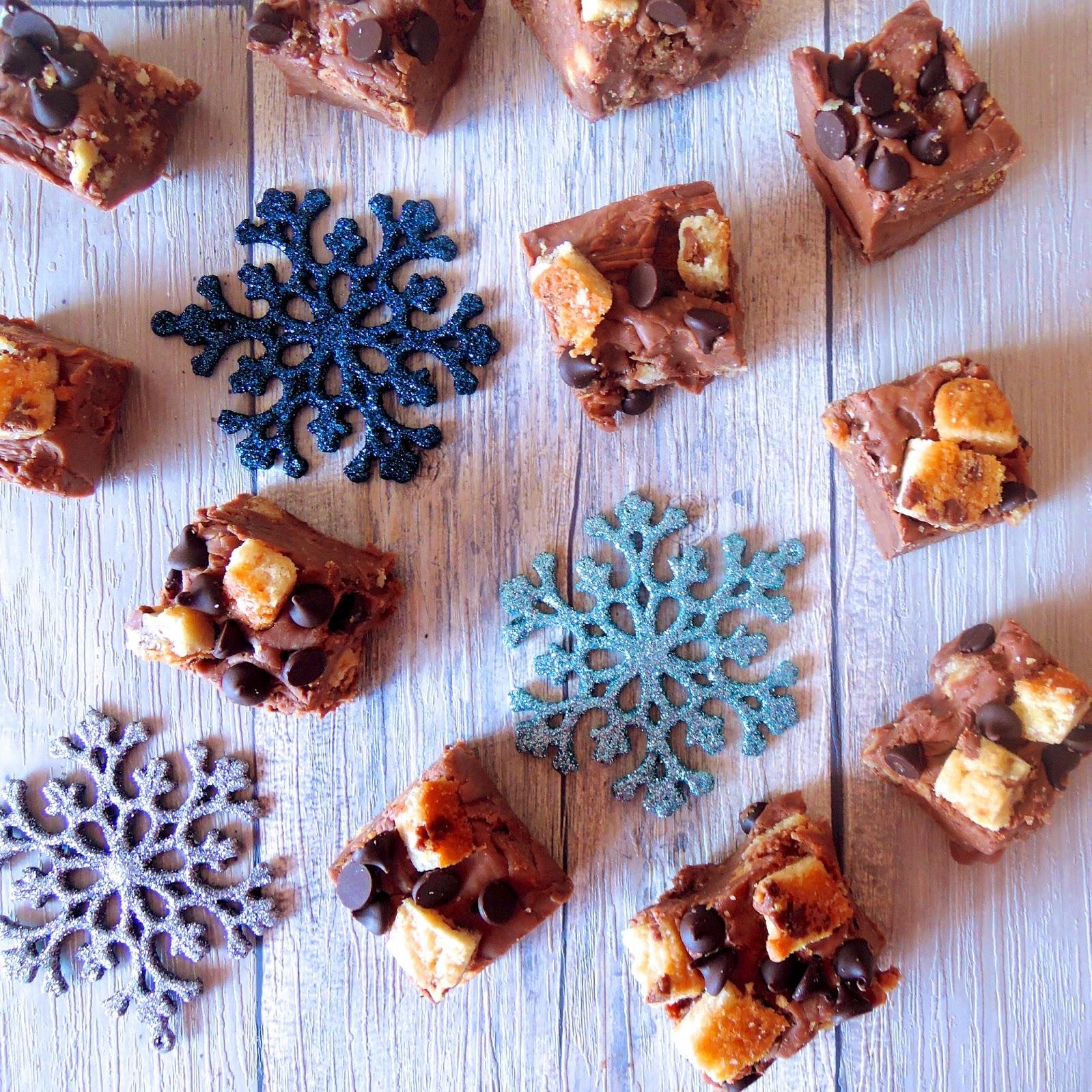 Triple Chocolate Cookie Fudge