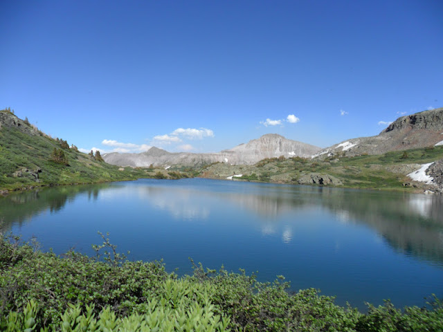 The view from Kite Lake