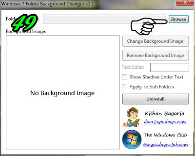 1 Cara Membuat Background Pada Folder Komputer