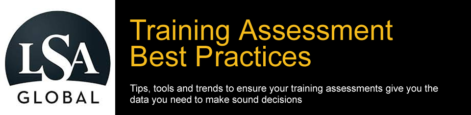 Training Assessment & Needs Analysis Best Practices