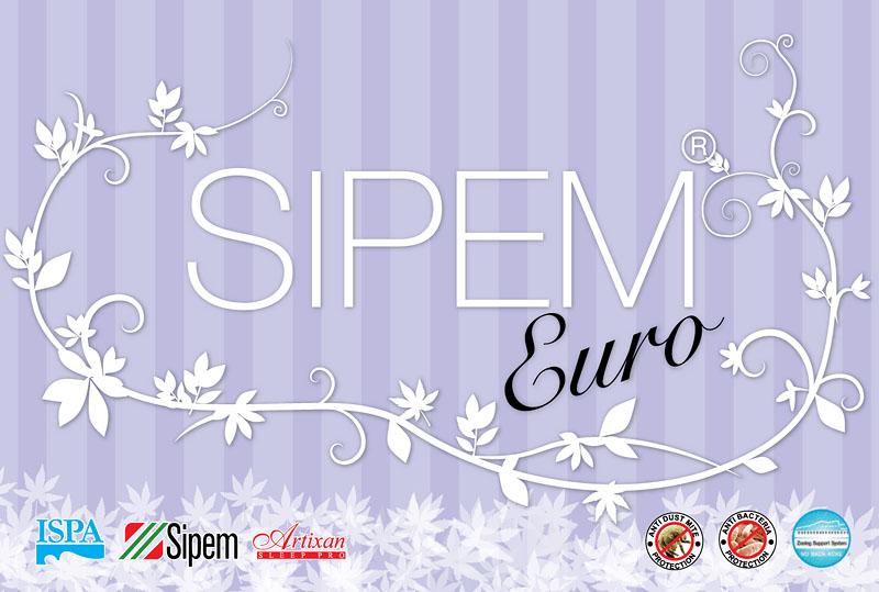 งานออกแบบใบปะหน้าที่นอน Sipem Euro แบบที่ 3