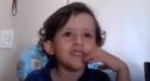 vegetarian child Luiz Antonio