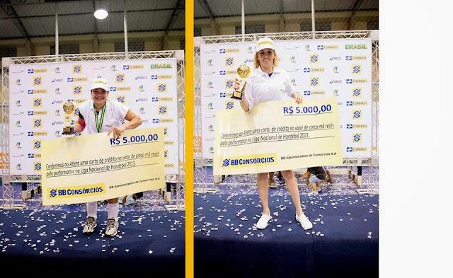 Premios en efectivo a mejores jugadoras de Liga Brasileña | Mundo Handball