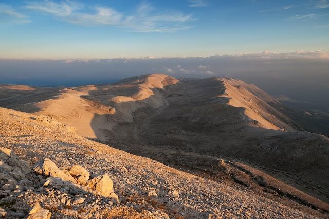 Valle di Femmina Morta dalla cima di Monte Amaro