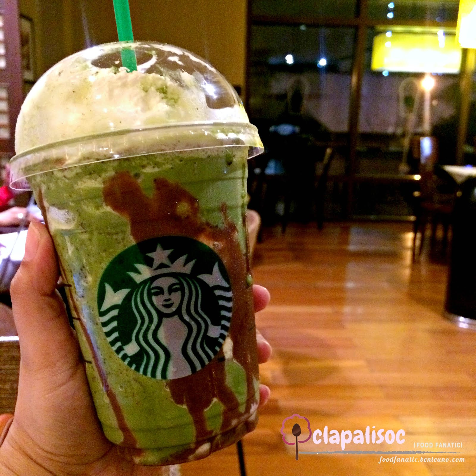 Everything Green Tea: Starbucks Double Chocolate Green Tea ...