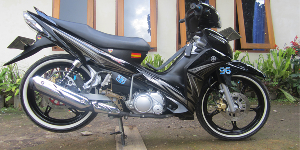 Yamaha New Jupiter Z Modifikasi Minimalis title=