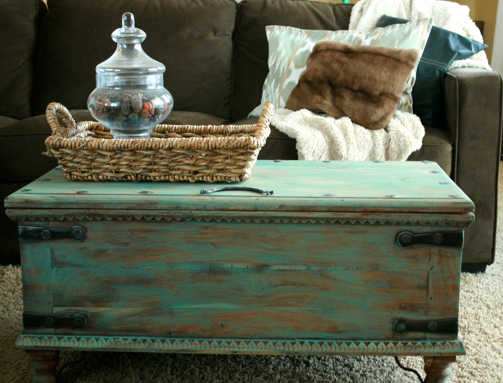 Finley Gray DIY Pottery Barn Trunk Inspiration