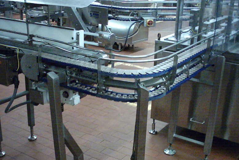 NeXtgen Table Top Sanitary Conveyor Modular Construction