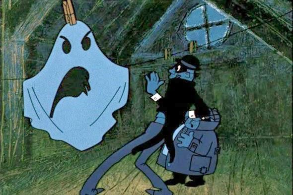 Karlson like a ghost