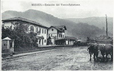 Mieres, postales para el recuerdo, La Voz de Asturias