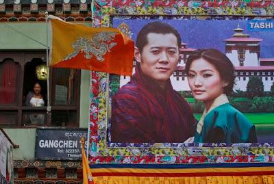 全球最帥國王 不丹國王旺楚克(Jigme Khesar Namgyel Wangchuck)