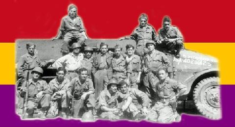 Republicanos españoles en la División Leclerc
