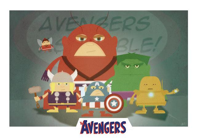 Avengers Assemble por Filthymonkey