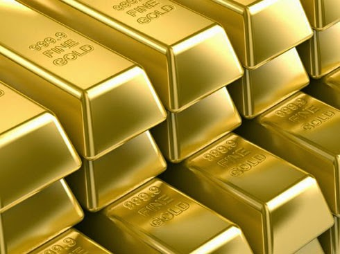 الذهب ينخفض الى أدنى مستوى له في اسبوع