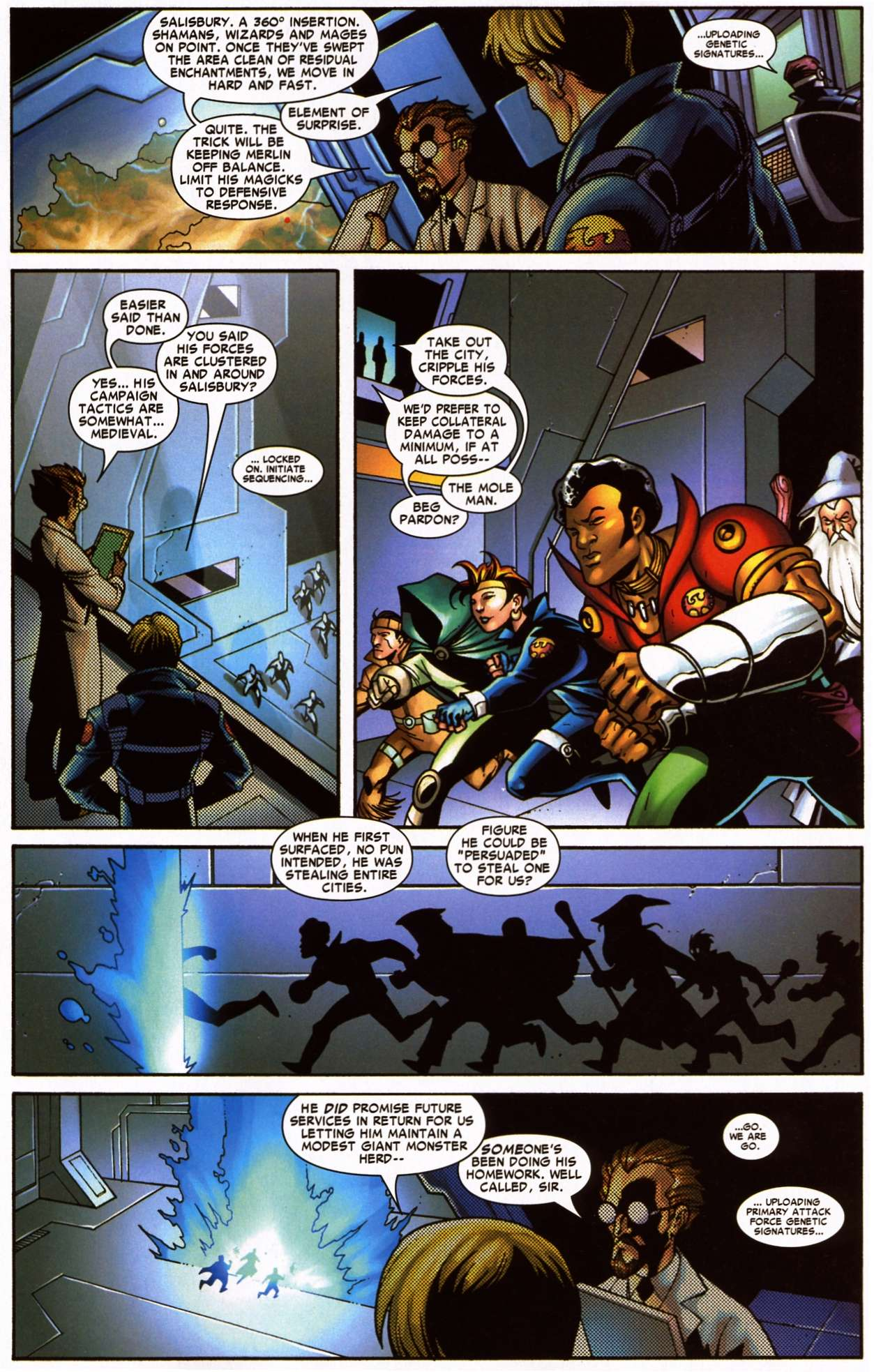 Nick Fury's Howling Commandos - Chapter  6   pic 3