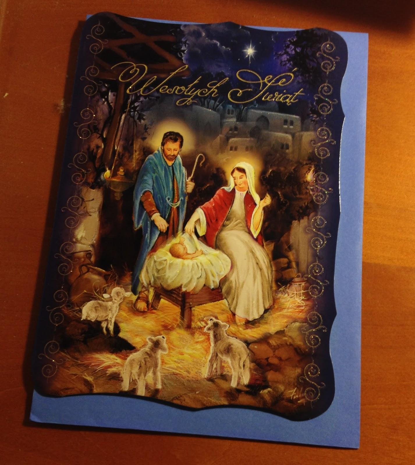 Pat Papertown 2: Warsaw (Poland): Nativity Scene Christmas Cards