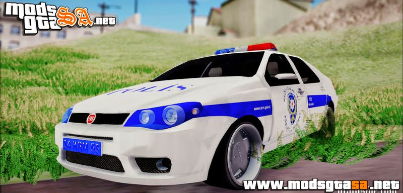 SA - Fiat Albea Police Turkish