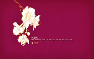 Wallpapers - Calendário Agosto 2014