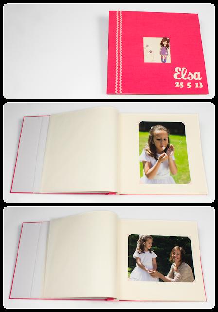 Scrapbooking: álbum de fotos infantil, páginas interiores