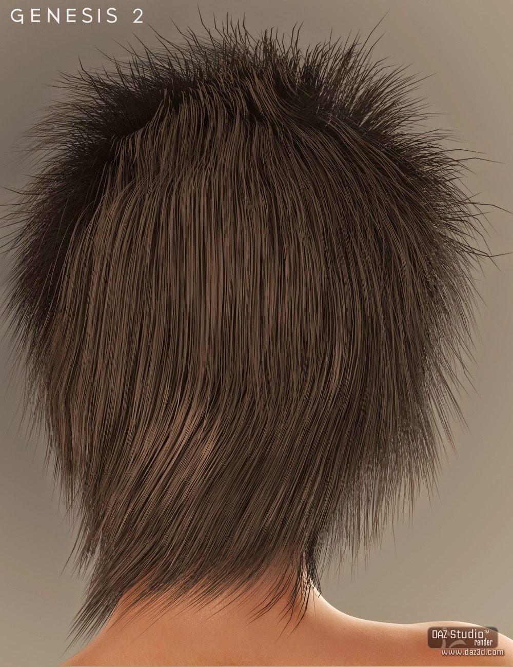 Charlie cheveux pour Genesis 2 Femme