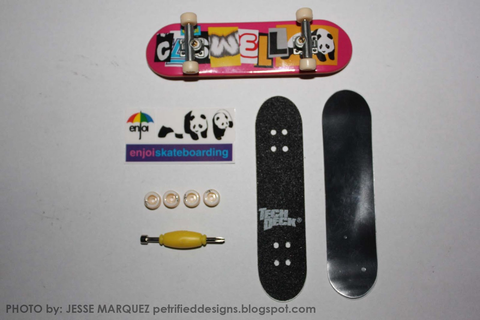 Randomly random toy review tech deck fingerboards enjoi smaller fingerboard baanklon Image collections