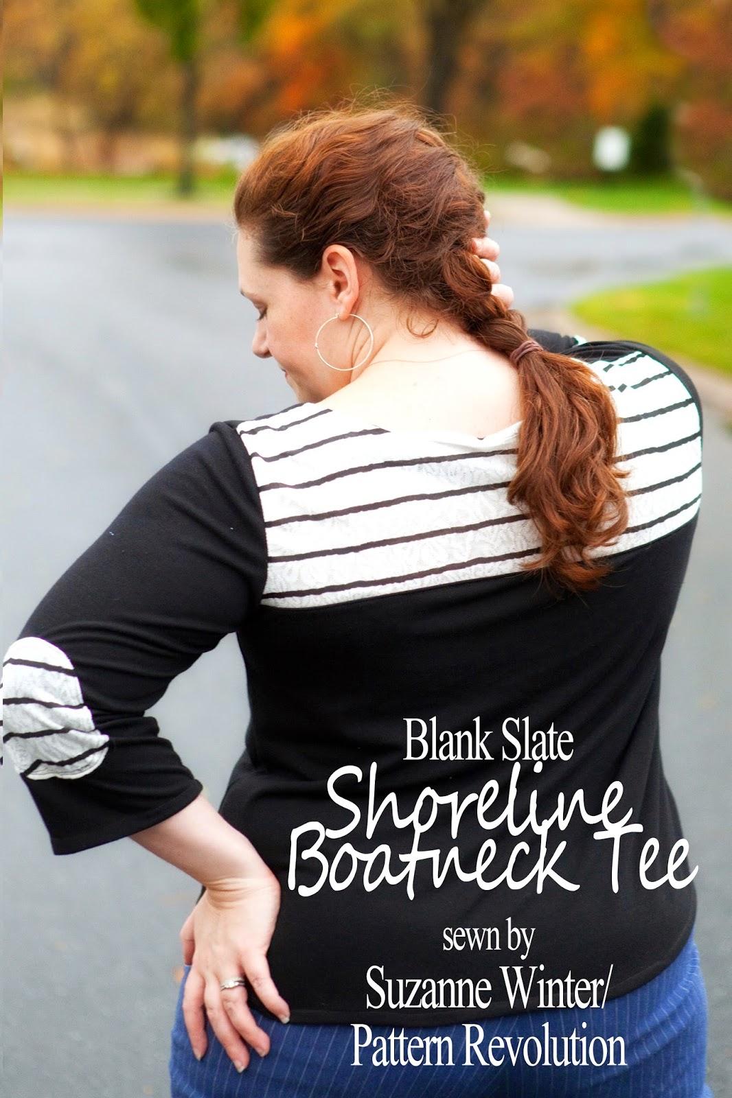 Shoreline Boatneck by Blank Slate Patterns sewn by Suzanne of Pattern Revolution