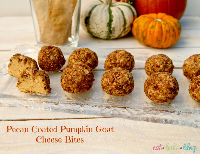 pumpkin goat cheese pecans