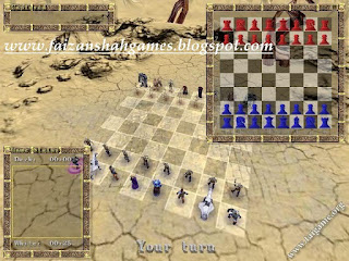 3d war chess game free download