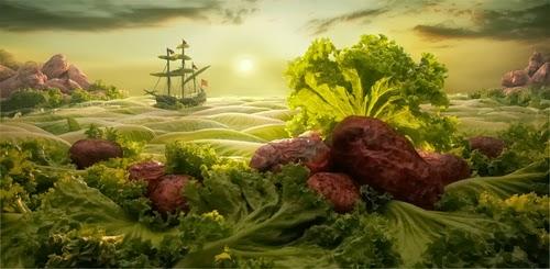 17-Lettuce-Seascape-Foodscapes-British-Photographer-Carl-Warner-Food- Vegetables-Fruit-Meat-www-designstack-co