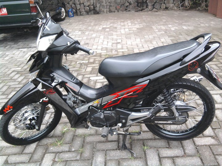 ide supra x 125 modifikasi