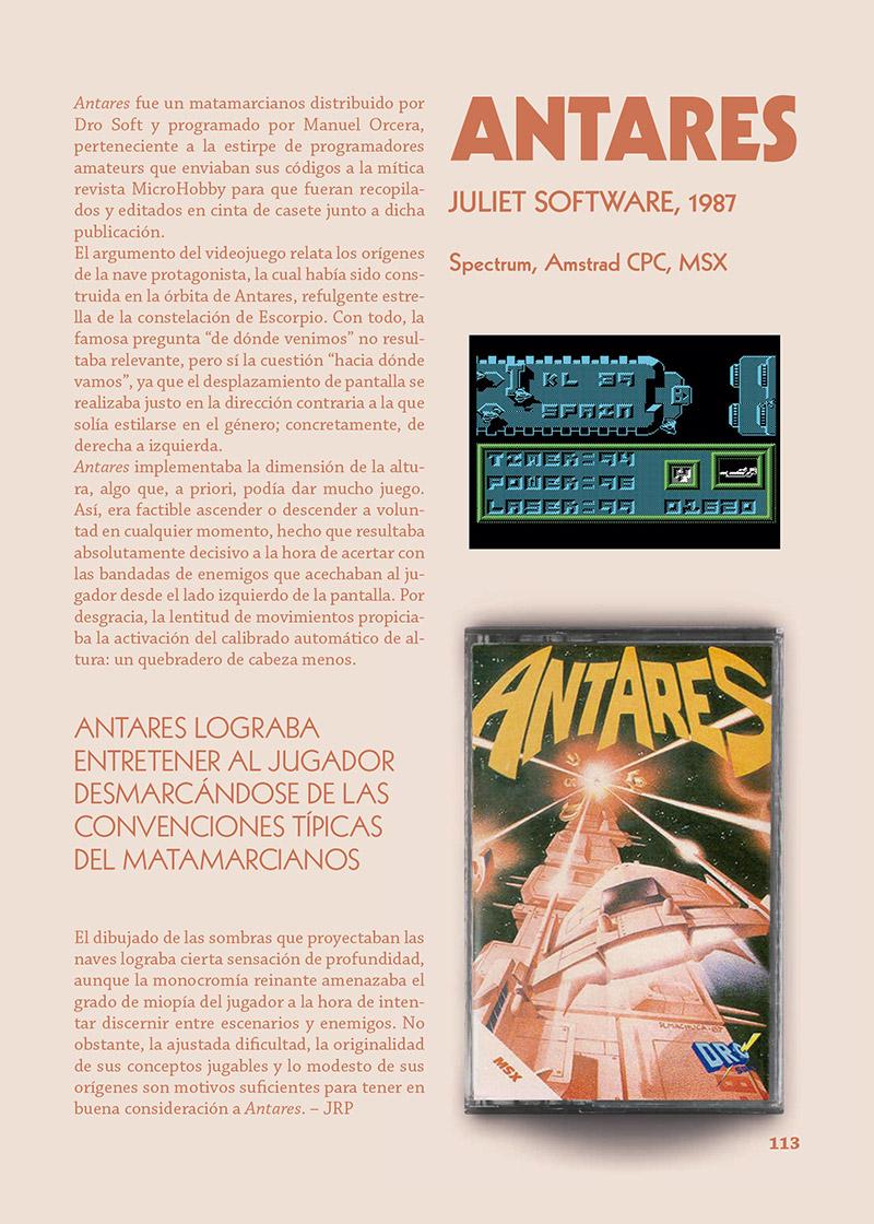Antares - Spectrum