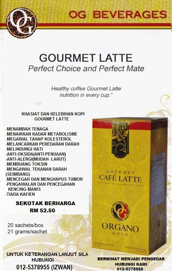 ORGANO GOLD CAFE LATTE