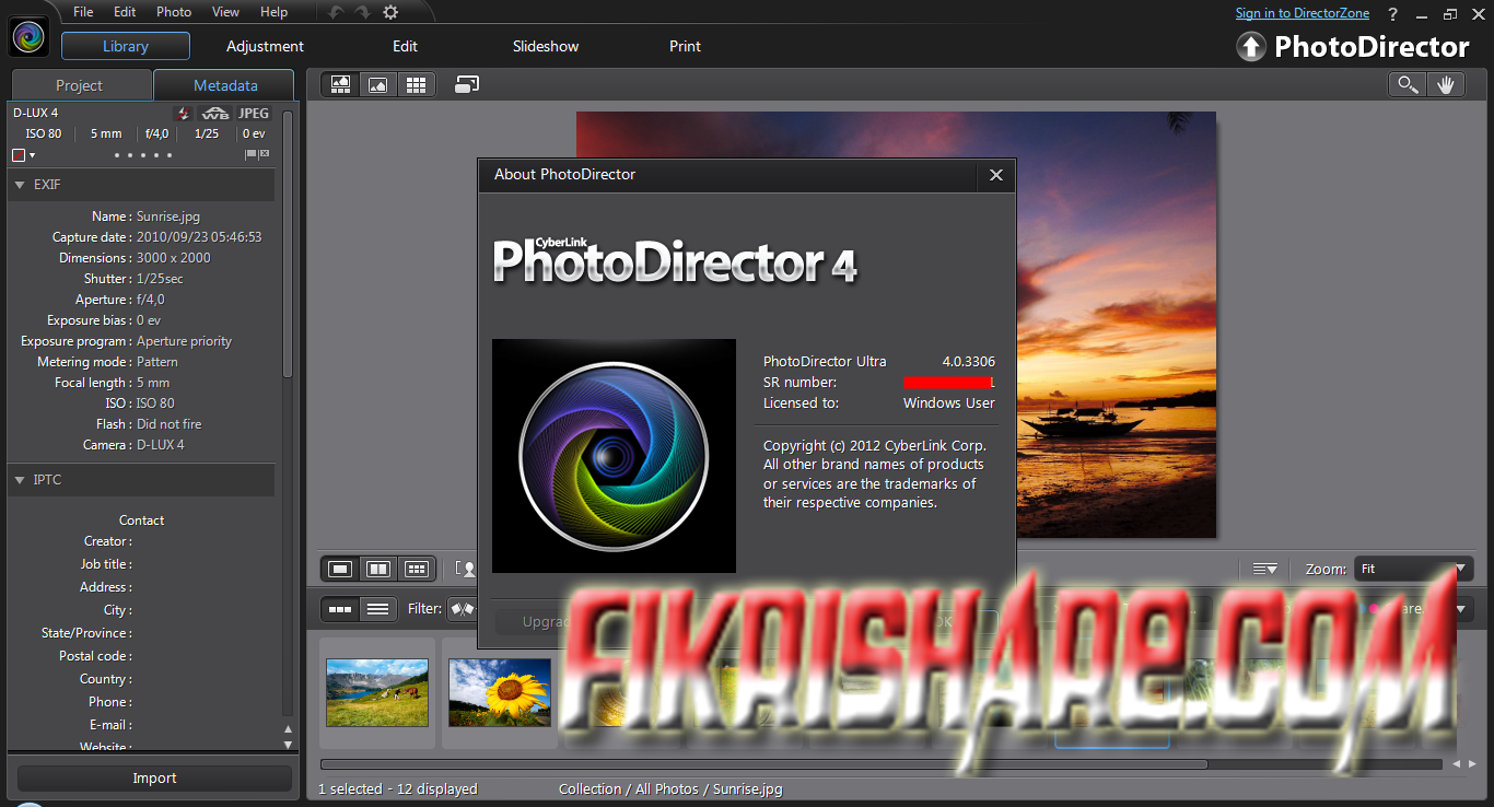 Cyberlink PhotoDirector 4.0.3306 Preactivated (140 MB)