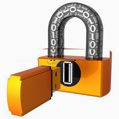 how to set password for pendrive without any software
