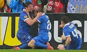 Hasil Pertandingan Dnipro vs Napoli 1-0 Tadi Malam