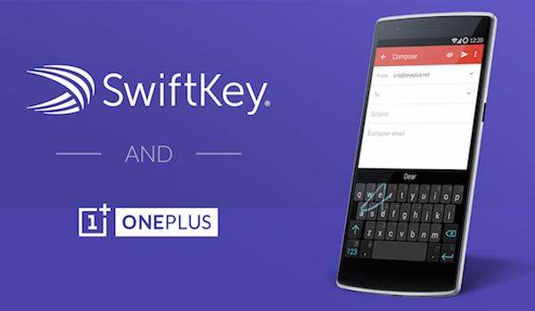 OnePlus Bermitra Dengan SwiftKey