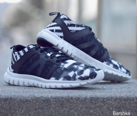 Geométrico Reebok for Bershka zapatillas deportivas