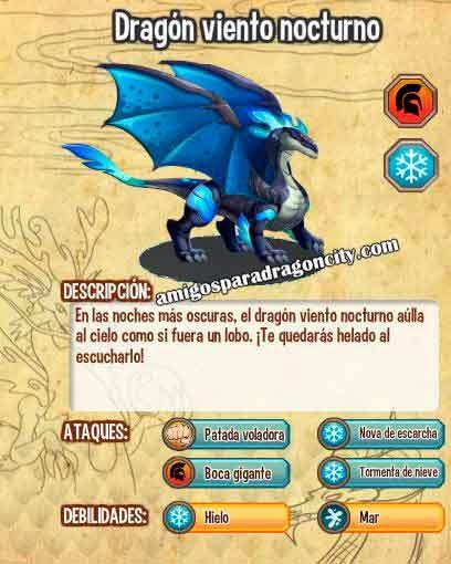 imagen de las caracteristicas del dragon viento nocturno