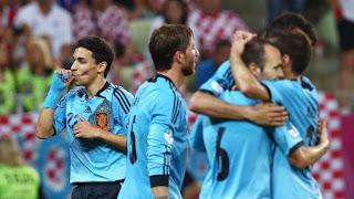 Espagne, Croatie et sièges déplace de livres dans les quarts de finale