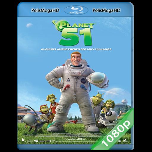 Planeta 51 (2009) 1080p HD MKV Español Latino