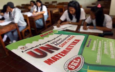 Ujian Nasional Di Sumatera Utara Pekan Depan