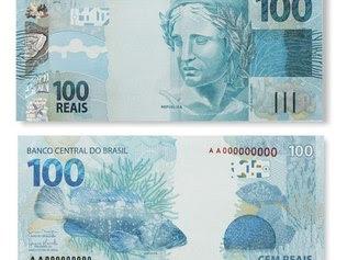 Nova cédula de R$ 100 é a mais falsificada