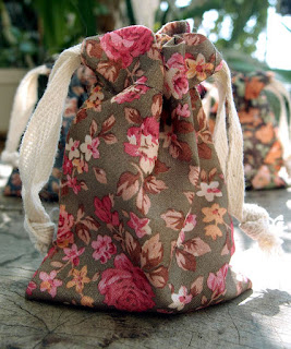 SRM Stickers Blog - NEW Products from SRM! - Day #3 - Bags, Tags & Christmas Stockings - #fabricbags #floral #vintage #linen #lace #burlapchristmasstockings #christmas #new