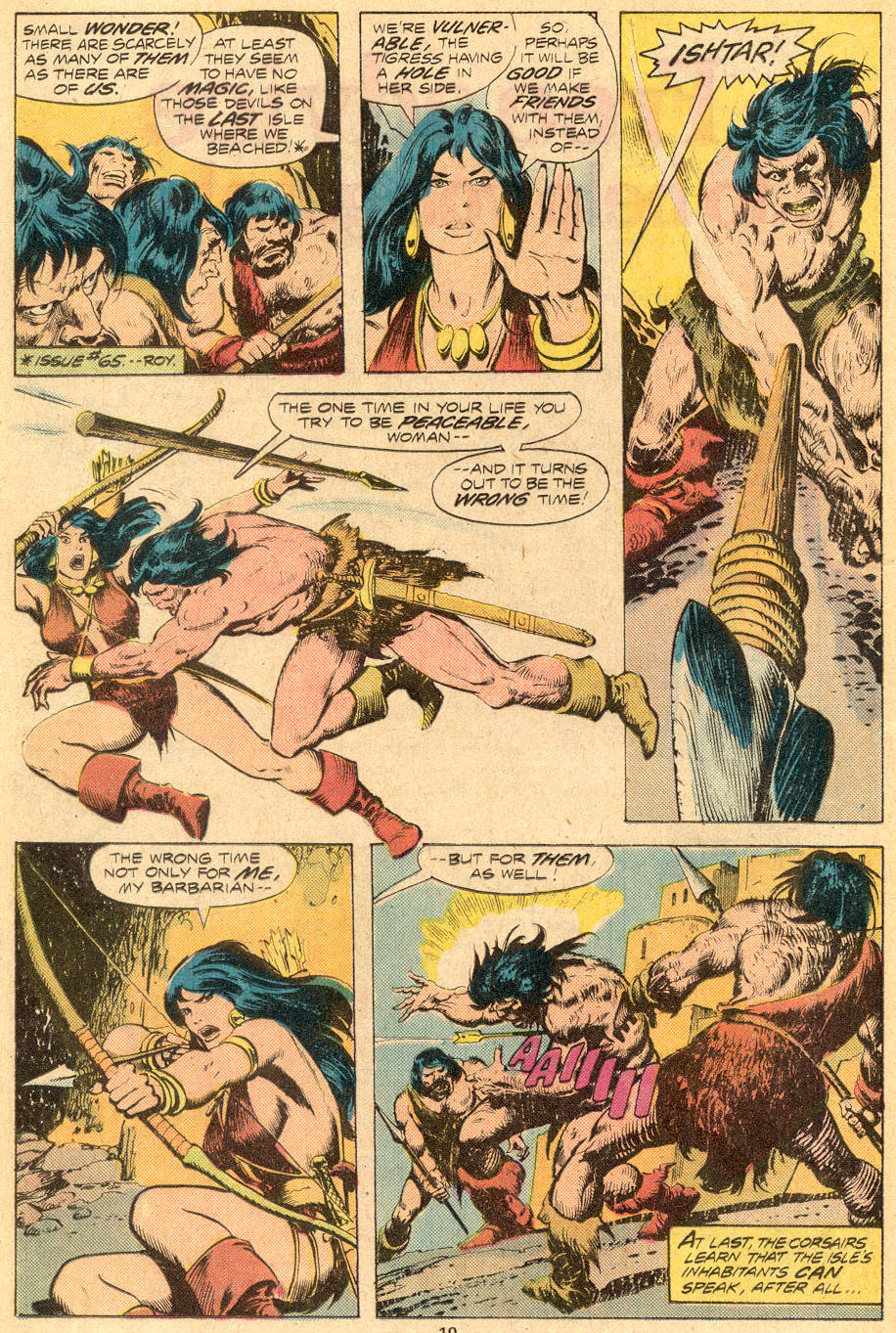 Conan the Barbarian (1970) Issue #70 #82 - English 7