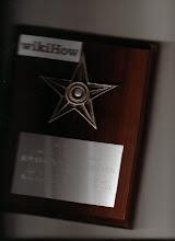 Shyam honored with Barn Star award