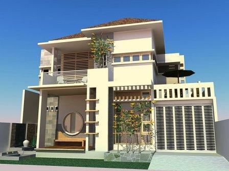pilihan kombinasi warna cat eksterior rumah minimalis memikat