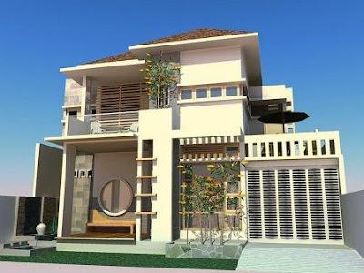 Memilih perpaduan warna rumah minimalis